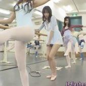 [堀口奈津美] 美人お姉さん おマ●コにローター入れたままバレエのレッスン