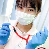 歯科助手のスレンダー巨乳美人と診察室でムラムラセックスで大量顔射 吉良薫
