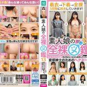 素人娘の全裸図鑑13 今時の女の子12名が恥らいながら脱衣していく様子をじっくり撮影した、変態紳士のためのヘアヌードコレクション